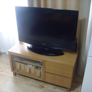 我が家の収納の現状*テレビ台編*