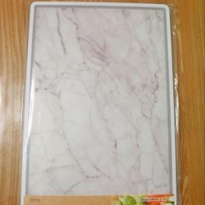 キッチンすっきり計画!その3*浮いていたまな板を買い替え。カインズの大理石調まな板の使い心地