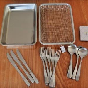 ナチュラルキッチンでお買い物。シンプル・マットなカトラリーに統一完了しました!