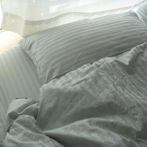 布団カバーを一新。寝室をイメージチェンジ!