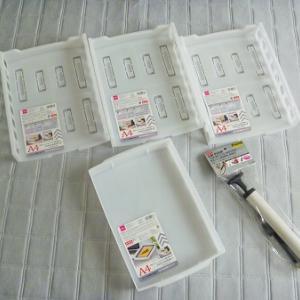 【ダイソー】白アイテムをお買い物&おもちゃ収納を変更。