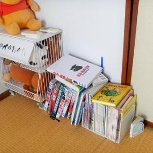 どうにかしたいこといろいろ。本の収納、床、寝る場所、壊れた照明