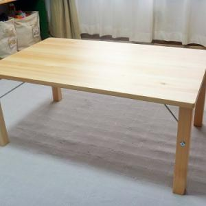 【無印良品】パイン材ローテーブル・折りたたみ式を購入。1か月使ってみて感じたこと