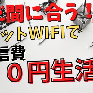 【悩むなら契約!】通信費0円!楽天モバイル「Rakuten WiFi Pocket」楽天回線エリアじゃなくても損なし!!