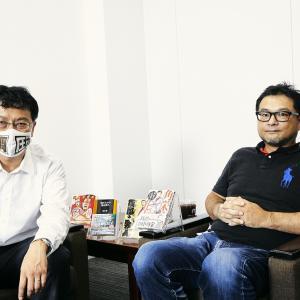 【対談】憲政史家・倉山満 vs マンガ家・大和田秀樹! ライターの役得で同席してきました。