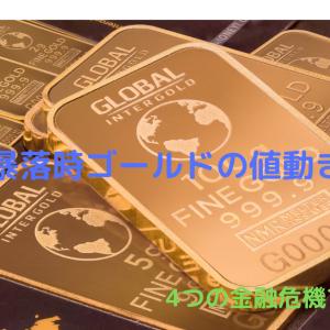 ゴールドは本当に株価の暴落に強いのか?過去の株価大暴落時のゴールドはどう動いたか検証してみた!