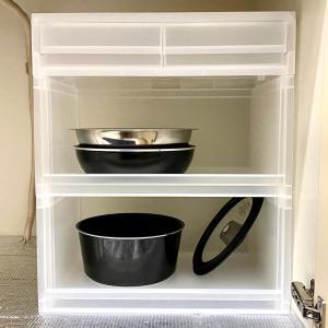 無印良品のPPラックで衛生的&取り出しやすいシンク下収納を作る!