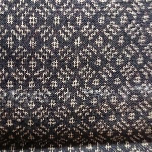 着物生地(263)絣織り出し手織り紬