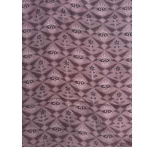 着物生地(354)紋金紗抽象花模様羽織生地