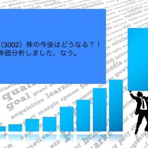 グンゼ(3002)株の今後はどうなる?!株価分析しました、なう。