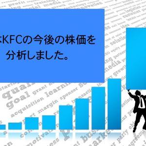 日本KFCホールディングスの今後の株価分析を分析、なう。