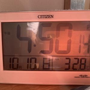 2021年10月17日(日曜日)雨が期待ほど降らなかった(TT)