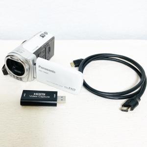 <超・低予算で>ビデオカメラをwebカメラにすることに成功しました!