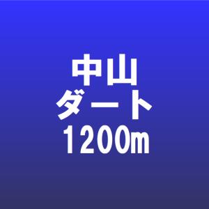 中山競馬場の特徴・ダート1200m