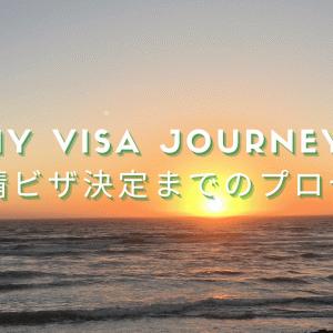 My Visa Journey Part 1|申請ビザ決定までのプロセス
