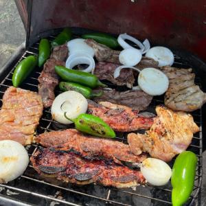 子供達のお弁当と、週末は公園でバーベキュー