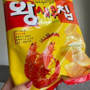 娘がハマってる韓国の美味しいえびせん