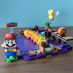 【レゴ・スーパーマリオ】「ハナチャンとフリフリアクションチャレンジ」の組み立て&遊び方を紹介