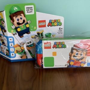 【レゴ・スーパーマリオ】「ルイージとぼうけんのはじまり~スターターセット」のパーツ紹介、ルイージの起動、組み立て①