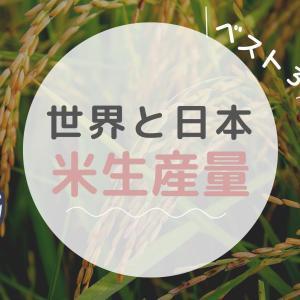 【世界と日本】お米生産量ランキングがけっこう意外!料理でみるベスト3