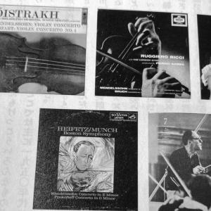 村上春樹音楽-古くて素敵なクラシック・レコードたち-メンデルスゾーン:ヴァイオリン協奏曲