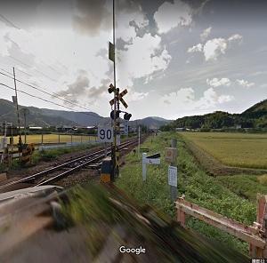 グーグルマップで鉄道撮影スポットを探してみた 山陰本線 竹野駅~佐津駅