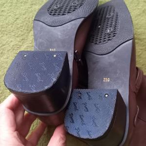 靴の修理をしてみる