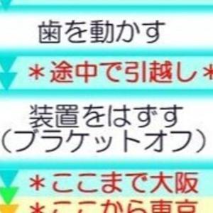 【矯正絵日記】転院騒動06 長距離通院と顎間ゴム