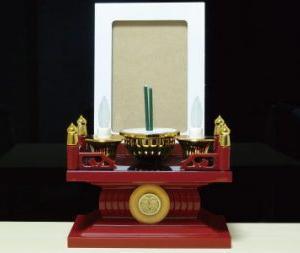 簡易仏壇「お勤めお今日さん」