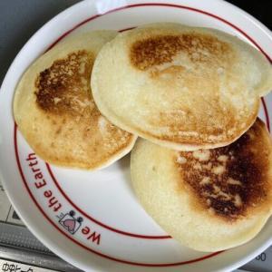 大豆粉と米粉のパンケーキミックス
