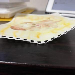 水彩用紙でも水張りは必要?