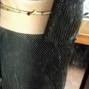 ストレッチウールの着物