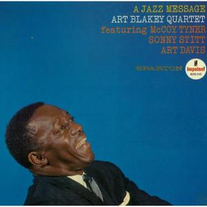 A-45 ART BLAKEY QUARTET featuring McCOY TYNER,SONNY STITT,ART DAVIS
