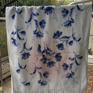 実践 タオルの赤カビを綺麗に洗う方法