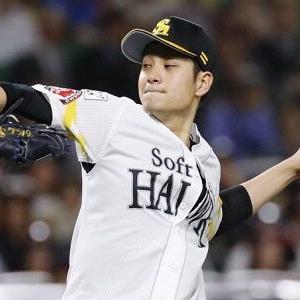 ソフトバンク大竹耕太郎、ロッテとの練習試合で3回無失点、最速136キロも打者差し込まれる