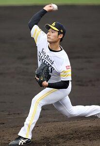ソフトバンク武田翔太、ロッテとの練習試合に先発し3回無失点の好投「カーブは生命線」