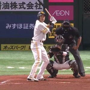 ソフトバンク柳田悠岐、リーグトップに並ぶ26号2ラン