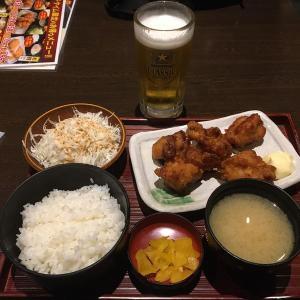 鶏よ魚よ パセオ店 JR札幌駅直結  ザンギ定食458円