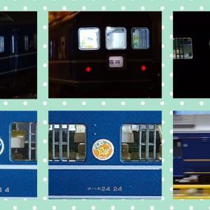 14・24系寝台客車で遊ぶ