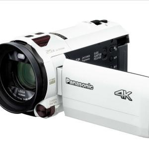 4Kビデオカメラを買っちったァ\(^o^)/