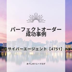あべしのトレードログ ~サイバーエージェント【4751】:ウマ娘パーフェクトオーダーの成功事例~