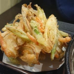 ゆで太郎システムさんの2021年6月期間限定メニュー!! 帆立とアスパラのかき揚げを食べてきた