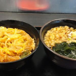 信越食品さんの2021年秋メニュー! 天とじ丼セットを食べてきた