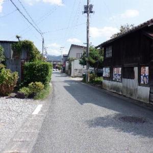 カブで村を走る(山形市 旧高瀬村 旧東沢村)