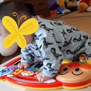 【0歳児オススメおもちゃ】アンパンマン「ノリノリおんがく キーボードだいすき」のレビュー