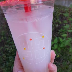 【ミスド×祇園辻利】ふわもち宇治抹茶黒みつ &【Misdo Drink Selection】タピココライチカルピス