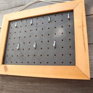 [DIY] パンチング(有孔)ボード・ディスプレイ 作り方 – 壁を素敵に