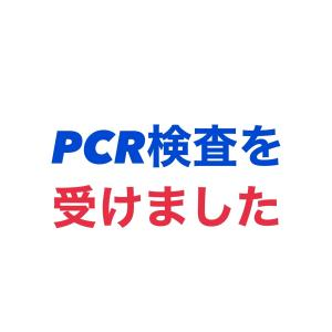 自費にてPCR検査を受けてきました