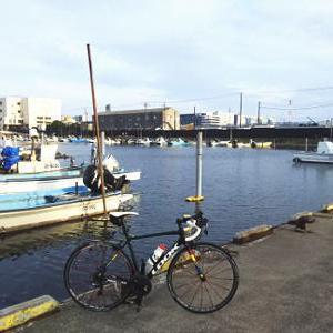 船橋港サイクリング