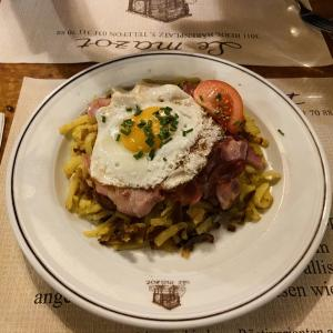 スイス郷土料理レシュティを食べに1時間かけて人里離れたお店に食べに行った話